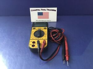 Ideal Digital Multimeter 61 360 With Leads d99
