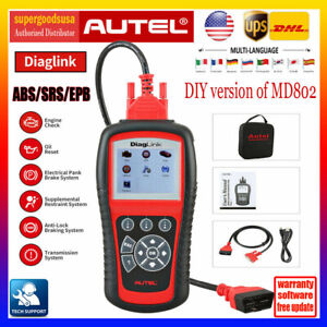 Autel Diaglink Obd2 Code Reader Car Scanner Tool Than Launch X431 Crp123 Vii