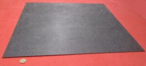 Abs Sheet Haircell Textured 1 Side Black 094 3 32 X 24 X 24 2 Units