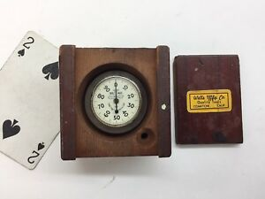 Wells Mfg Co Dial Mike Groove Gap Height Gage Micrometer 1 55 Rare Usa Made