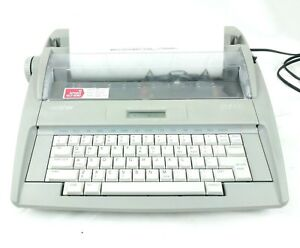 Brother Sx 4000 Electronic Typewriter W Lcd Display Vintage Tested And Working