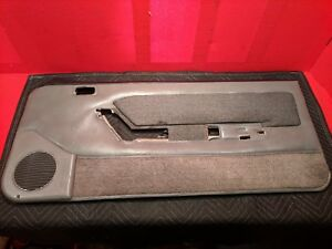 87 93 Ford Fox Body Mustang 5 0l Smoke Gray Door Panel Power Windows 88 89