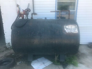 550 Gallon Fuel Storage Tank