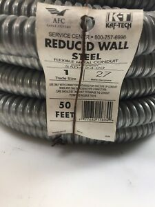 1 In X 50 Ft Flexible Steel Conduit Afc Cable Systems 5504 24 00