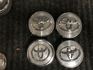 1 Set Toyota Matrix Camry Corolla Center Caps Hubcaps 2007 2012 Pn 42603 Ac060