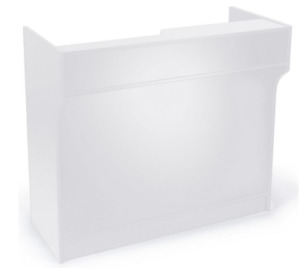 48 Retail Store Wrap Counter Cash Register Stand White