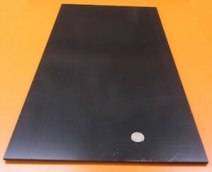 Abs Sheet Smooth On Both Sides Black 188 3 16 X 12 X 24 2 Units