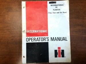 International Harvester 56 Planter Operator s Manual 078
