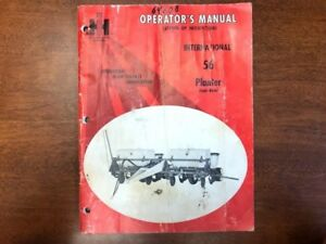 International Harvester 56 Planter 4 Row Operator s Manual 079