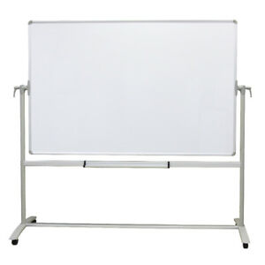 Double sided Magnetic Mobile Whiteboard Office Whiteboard Stand Steel Stand
