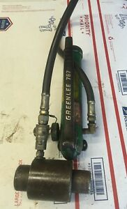 Greenlee 767a Ram Hand Pump Hydraulic Driver Kit 6240a