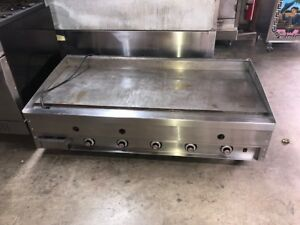 Vulcan Thermostatic 60 Gas Griddle msa 60