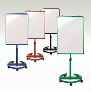 Eco Magnetic Mobile Whiteboard Office School Flipchart Easel 3 Color 28 x40