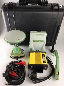 Leica System 1200 Gps glonass Base Kit W 35w Pdl Radio We Export