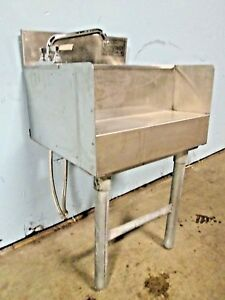 eagle Commercial Under Counter nsf Ss Bar Wash Sink W faucet