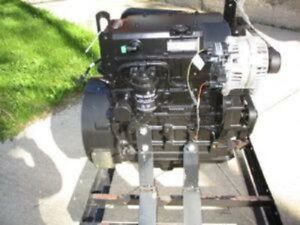 John Deere 4024tf281 Diesel Engine All Complete And Run Tested
