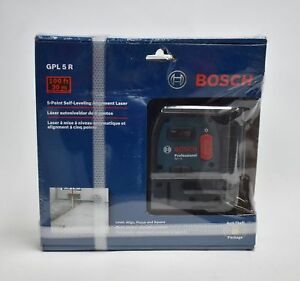 Bosch Gpl5r 5 point Self leveling Alignment Laser