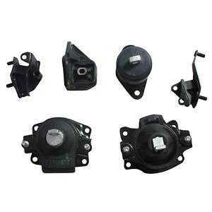 6pcs For Auto For 03 07 Honda Accord 2 4l Engine Motor Trans Mount Set