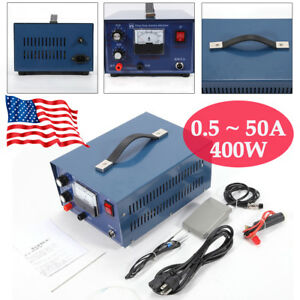 Jewelry Pulse Welding Machine Electric Pulse Sparkle Spot Welder Jewelry Tool