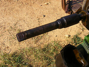 Antique John Deere 1010 Clutch Drive Shaft Farmerjohnsparts