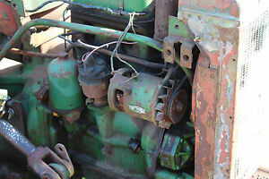 Antique John Deere 40 420 430 Generator And Brackets Farmerjohnsparts