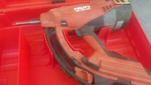 Hilti Gx 120 me Gas Actuated Fastening Tool