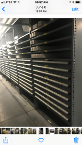 Ball Bearing Slide Drawers For Small Parts Bin Storage