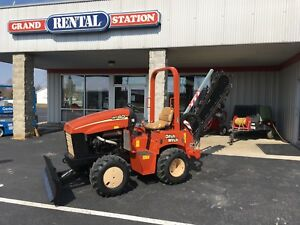 2006 Ditch Witch Rt40 4x4 Ride on Trencher Backfill Blade Used reconditioned