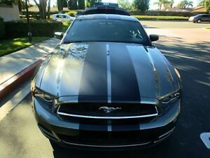 2011 2012 2013 2014 Ford Mustang 10 Racing Vinyl Stripe Graphic Decal 40 Ft