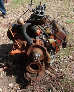 Ford Early 272 292 Y block Motor engine complete parts restore condition Unknown