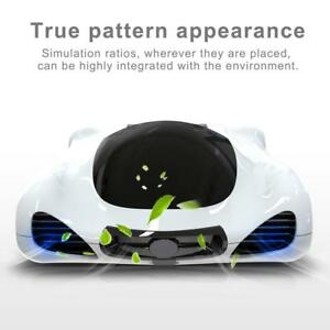 Car Solar Air Purifier Freshener Smell Dust Cleaner Smart Control Car Charger