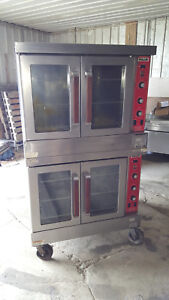 Vulcan Commercial Full Size Double Stack Convection Ovens Natural Gas Sg4d Nice