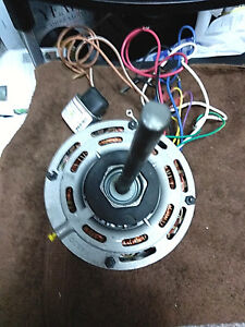 Fasco D727 3 Speed Motor And Blower Wheel Squirrel Cage 10 5 Diam X 7 Width