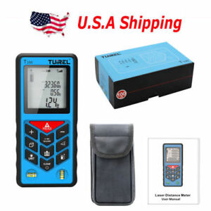 Usa Ship Tuirel 100m 328ft Laser Distance Meter Range Finder Measure Instrument