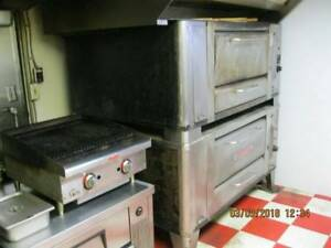 Blodgett Double Stack Pizza Oven Natural Gas