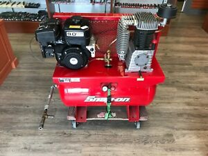 Snap On Air Compressor Bra9g3b Air Compressor Gas Excellent Shape Look
