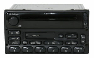 Ford Truck And Van Radio Am Fm Cassette Cd Player 1998 2010