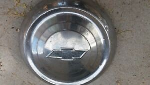 Vintage 51 53 Chevy Chevrolet Dog Dish Hubcaps