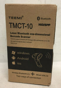 Teemi Tmct 10 Laser Bluetooth One dimensional Barcode Scanner Ut11 r12