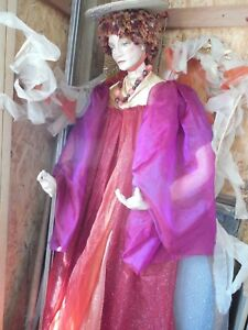 Women Female Mannequin Head Bust Vintage Art Deco Angel