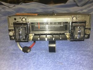 1968 1969 Dodge Charger B Body Am Radio Serviced And Fm Conversion And Ipod Jack