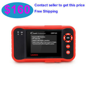 Launch Creader Crp123 Auto Code Reader Code Scanner