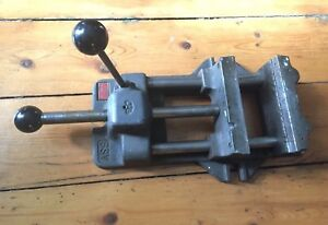Vintage Heinrich 6sv Speed Vise W 6 Jaws Machinist Bridgeport Drill Press