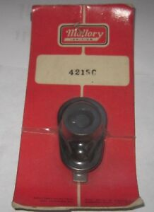 Nos Mallory 4215c Ignition Rotor For Mallory Dual Point Yl Yc Flat Top Caps
