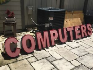 Computers Store Outdoor Large Business Sign 11ft