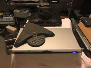 Polycom Vsx700e Video Conferencing System With View And Sound Station