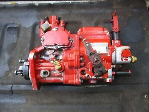 International Farmall Tractor 966 Diesel Fuel Injection Pump 100 6a 100a 9256 D1