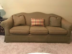 Sherrill Camel Back Sofa Couch
