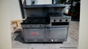 Southbend S60dd 2rr Commercial Range With 6 Burners Griddle