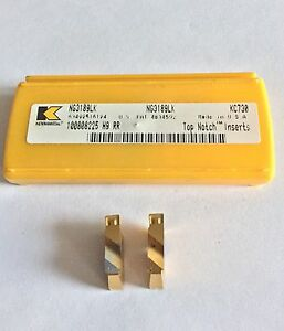 Kennametal Ng3189lkk Kc730 Inserts As Shown